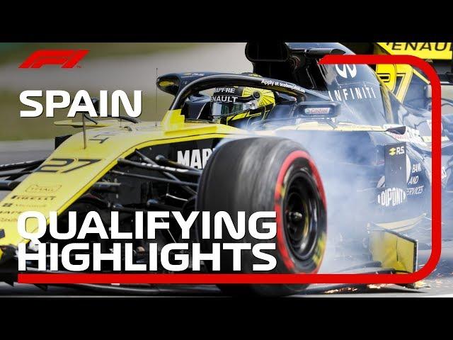 2019 Spanish Grand Prix: Qualifying Highlights