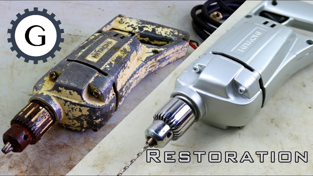 Electric Drill Restoration Very Old