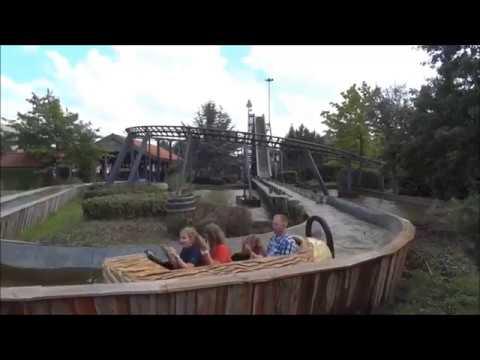 Wildwasserbahn und Achterbahn - Attraktion in Kernis ...