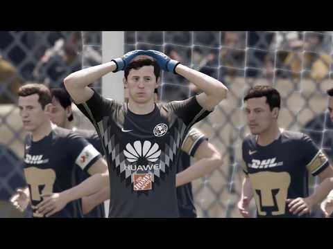 Pumas vs América jornada 3 liga mx Fifa 18