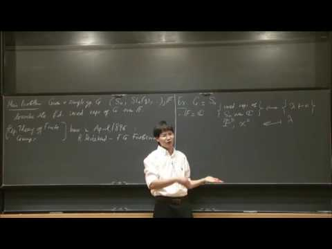 Representations of finite groups and applications - Pham Tiep