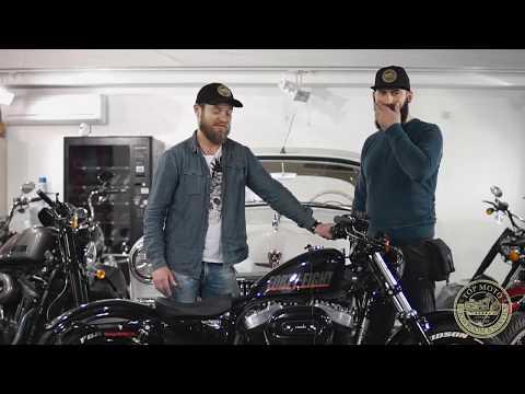 Обзор на мотоцикл Harley Davidson Xl 1200 X Sportster он же Peanut или арахис
