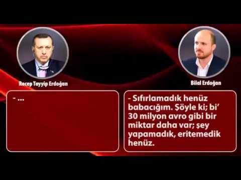 Başbakan Recep Tayyip Erdoğan Ve Bilal Erdoğan'ın Ses Kaydı Yolsuzluk