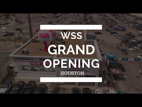 WSS Shoes, Clothing & Athletic Gear. (GRAND OPENING - HOUSTON TEXAS) - PROMO