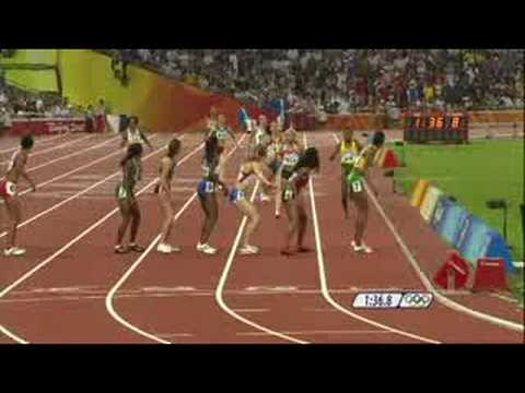 Athletics - Women's 4X400M Relay - Final - Beijing 2008 Summer Olympic Games