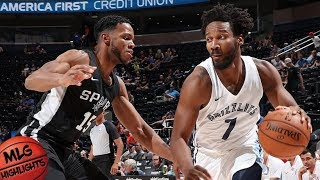 Memphis Grizzlies vs San Antonio Spurs Full Game Highlights / July 5 / 2018 NBA Summer League