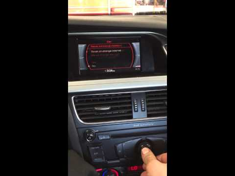 how to change oil audi a4