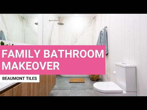 Family Bathroom Makeover | Before and After