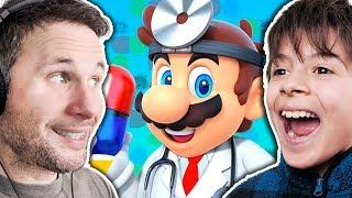MARIO DE GRAÇA - Dr. Mario World (Gameplay em Português PT-BR)