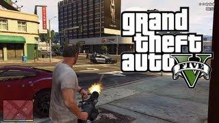 "GTA5 Grand Theft Auto V: ""STRAALJAGER, MINIGUN, POLITIE!"" (Dutch Live Commentary)"