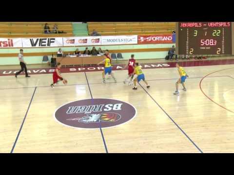LJBL U-17 Boys Finals / 12.05-14.05 / Riga, Latvia / 5-8 Place playoffs / Ventspils vs. Jēkabpils