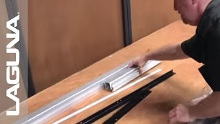 Laguna Tools Fusion Tablesaw Setup - Unboxing The Parts - Part 2 Of 18