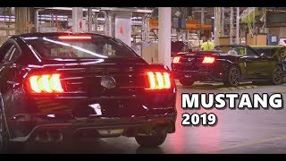 2019 Ford Mustang Production Factory