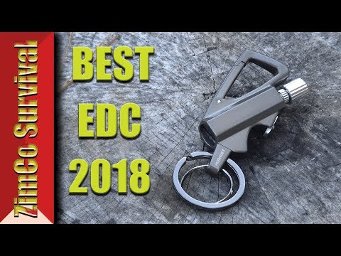 ✔️ Best EDC Gadget 2018 - Honest Keychain permanent match Review