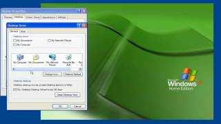 Windows XP Tip: Desktop Icons