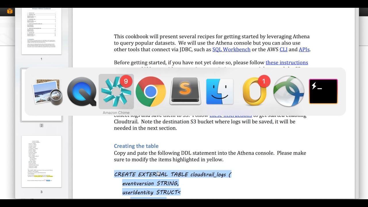 Querying AWS CloudTrail logs with Amazon Athena – Amazon Web Services