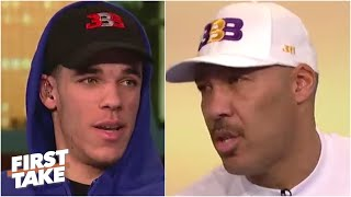 [FULL] Lonzo and LaVar Ball's 2017 First Take interview