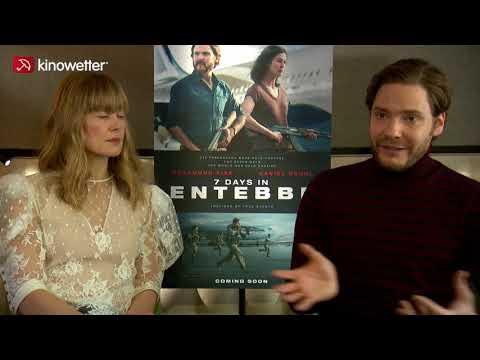 Interview Rosamund Pike & Daniel Brühl 7 TAGE IN ENTEBBE