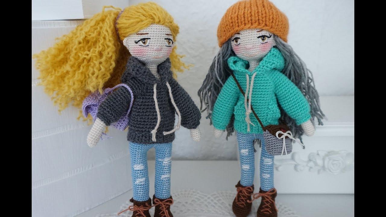 Crochet doll Pearl pattern Amigurumi doll doll clothes PDF | Etsy | 720x1280
