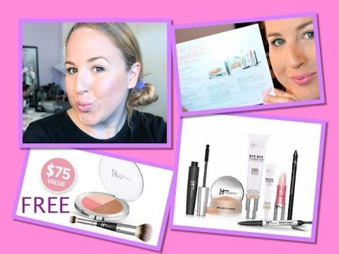 *NEW* It Cosmetics Bye Bye Foundation Set~Demo & Review Chatty