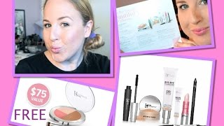 *NEW* It Cosmetics Bye Bye Foundation Set~Demo & Review Chatty