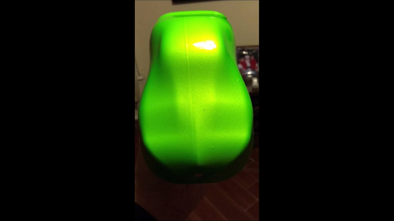 custom made base with kandy lime gold on top the real antifreeze green youtube. Black Bedroom Furniture Sets. Home Design Ideas
