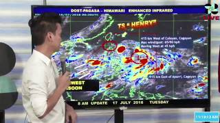 11am pagasa weather update