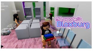 My Laundry in Bloxburg, My First Business in Bloxburg roblox in Spanish