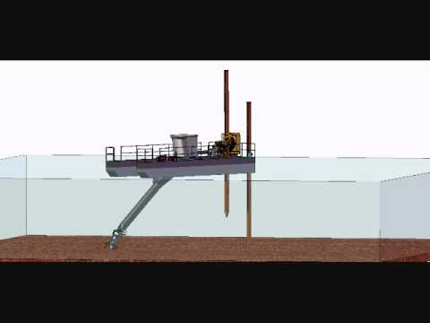 VMI Cutter Suction Dredge Animation