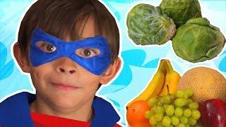 Johny Johny Yes Papa | Eat Healthy Foods | Fruits and Vegetables