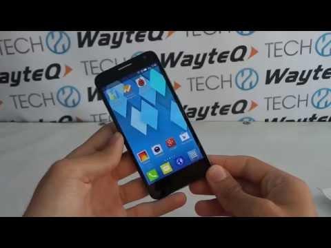 Alcatel One Touch Idol 2 Mini S Quadrant benchmark video | Tech2.hu
