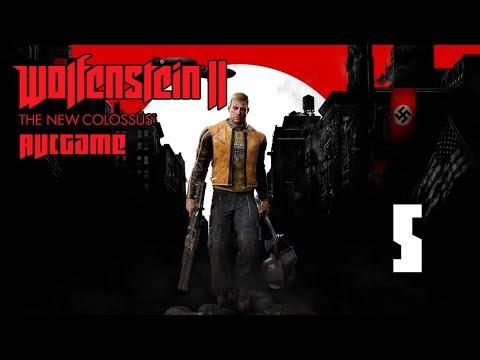 Прохождение Wolfenstein II: The New Colossus #5 - Совсем офигели