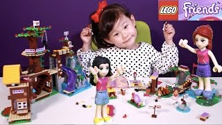 라임이의 레고 프렌즈 신제품 41122 캠프 트리 하우스 41121 캠프 래프팅 41120 캠프 활쏘기 체험 만들기 장난감 놀이 LimeTube & Toy 라임튜브