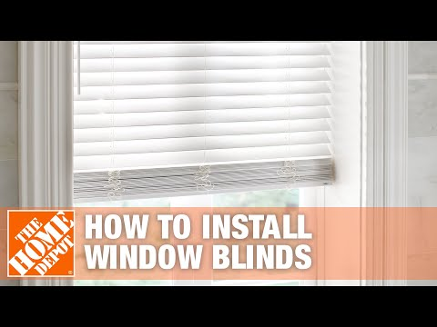 How To Install Inside Mount Horizontal Window Blinds