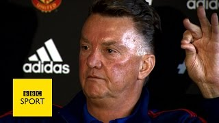 Louis Van Gaal's Funniest Quotes - Bbc Sport