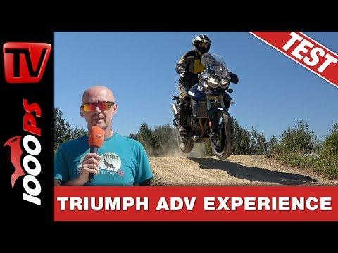 Legal Offroadfahren im Enduropark Meltewitz mit Enduro und Scrambler .Triumph Adventure Experience