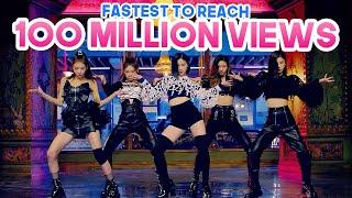 FASTEST KPOP GROUPS MUSIC VIDEOS TO REACH 100 MILLION VIEWS