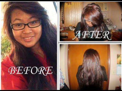 How to dye hair: Revlon Light AshBlonde - YouTube