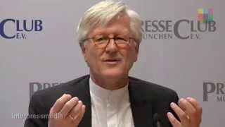 Landesbischof Heinrich Bedford-Strohm im PresseClub München Teil 1