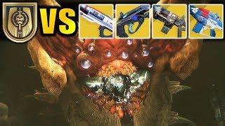 Destiny 2: EVERY Exotic Auto Rifle VS RIVEN! thumbnail