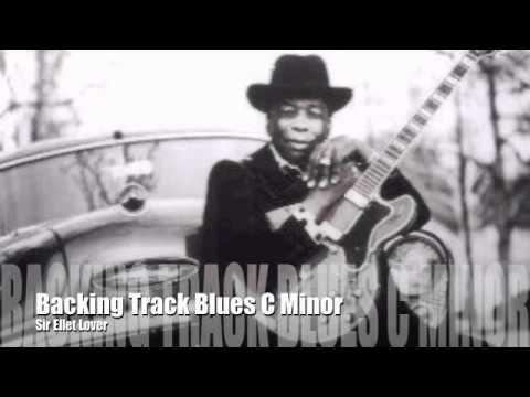 Backing Track Slow Blues C Minor