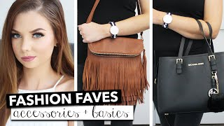 Fashion Favorites Accessories & Basics | Rachelleea