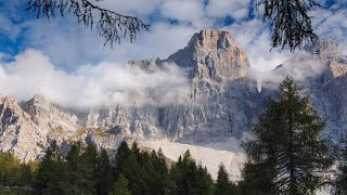 Landscapes of the Dolomites   At an exhibition
