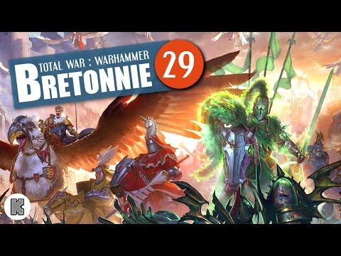 [FR] Total War: Warhammer Let's play Bretonnie – 29 – Palais des Chutes et grosse attaque du Chaos