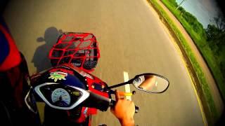 Honda wave 125i topspeed...kmutnb