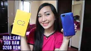 REALME C2 - UNBOXING - HANEP ANG DESIGN WOW!!!!