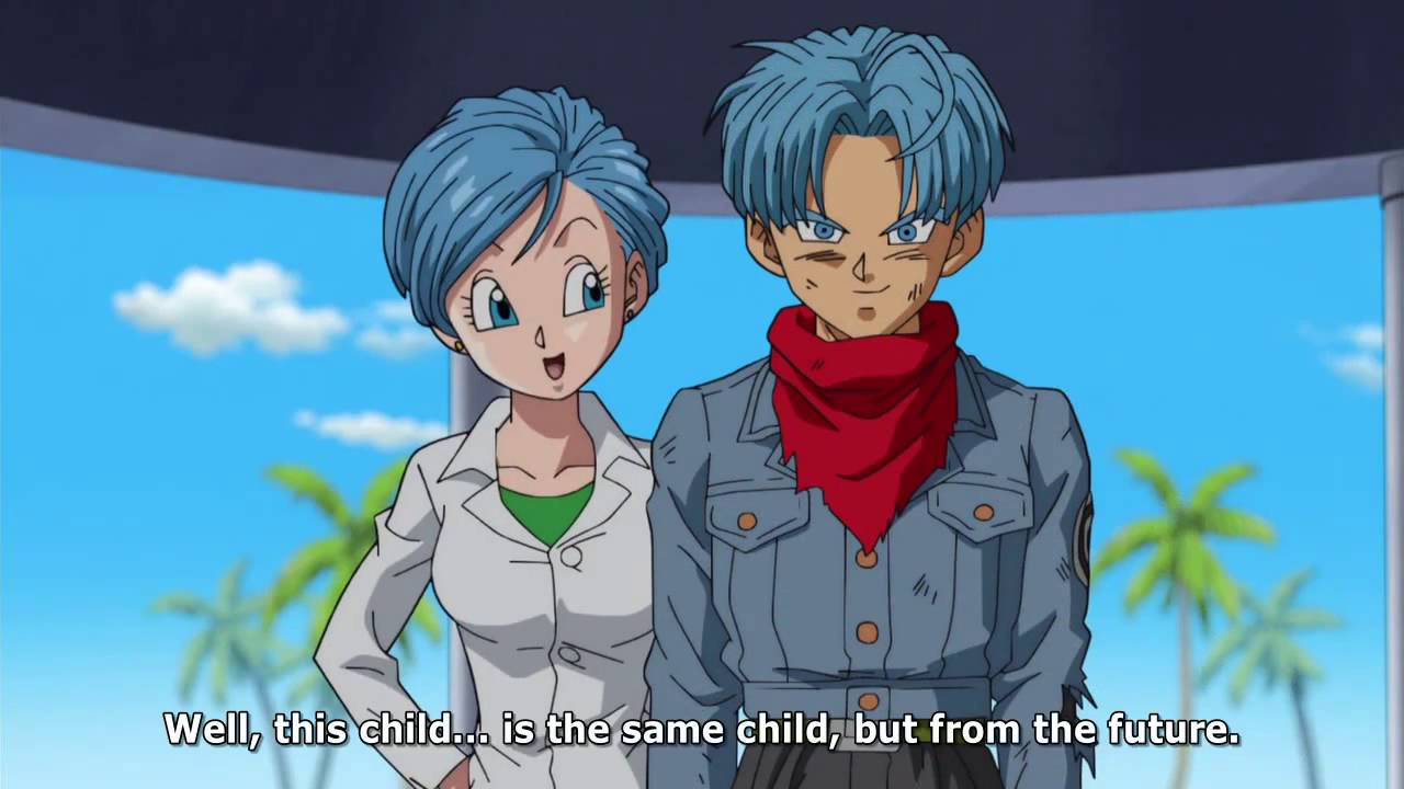 Why did future trunks have a different hair color in DBS ...