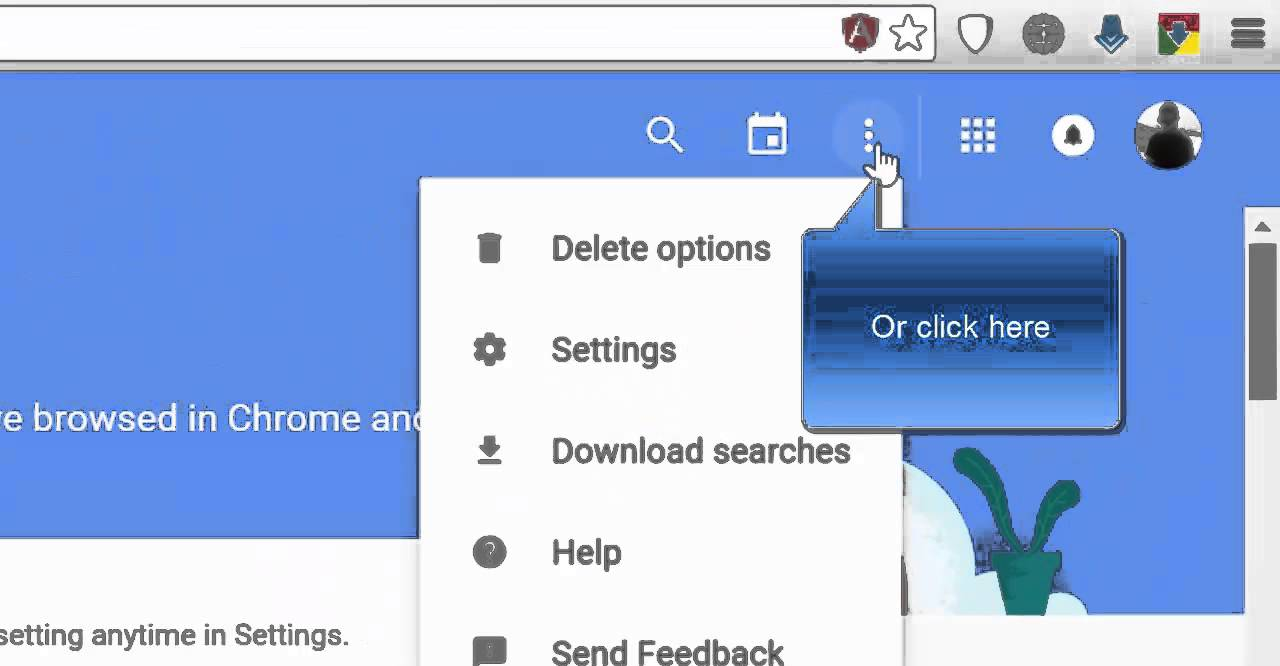 How To Delete Your Web Search History From Google