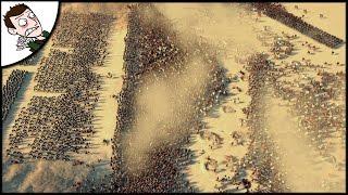 MASSIVE 20000 CARTHAGE v ROME SURVIVAL BATTLE! Ancient Empires Gameplay (Total War Attila Mod)