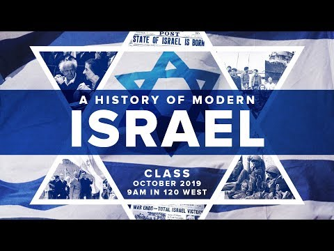 The Formation Of The State Of Israel | A Modern History Of Israel